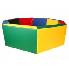 Детский сухой бассейн восьмигранный