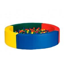 Детский сухой бассейн круглый