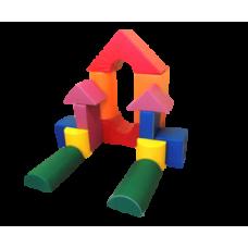 Детский конструктор (14 модулей 30 см)