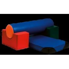 Детский спортивный комплекс 4 (4 модуля)