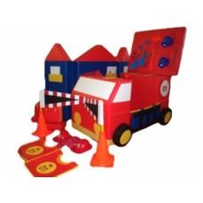 Пожарная безопасность - мягкий игровой набор для детского сада