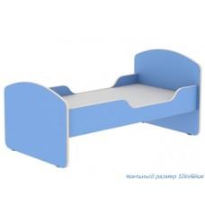 Кровать для ясельной группы детского сада (под матрац 120х60см)