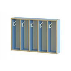 Вешалка для полотенец настенная, 5 секций