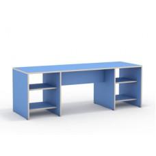 Стол для занятий и хранения дидактических материалов с полками