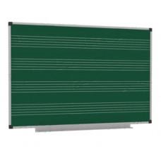 Нотный стан - разлинованная доска для кабинета музыки и музыкальной школы 150х100