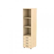 Шкаф-пенал вертикальный с 4 ящиками Осанка