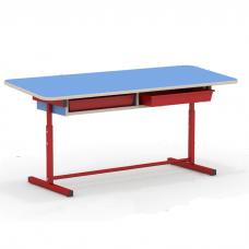 Комплект дошкольника - стол с наклоном столешницы и стульчик