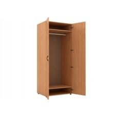 Шкаф для одежды глубокий с перекладиной