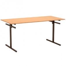 Стол для столовой 6-ти местный с подвесами для скамеек