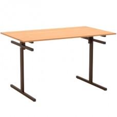 Стол для столовой 4-х местный с подвесами для скамеек